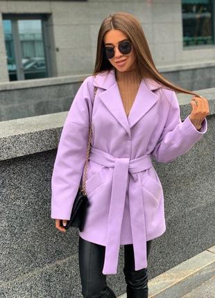 Укорочённое пальто1 фото