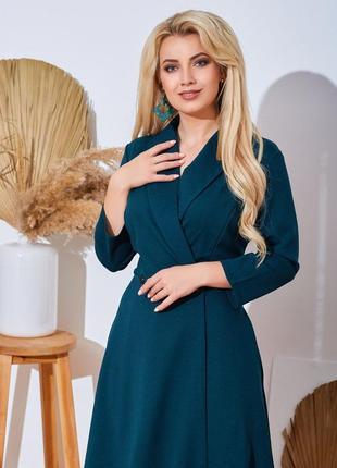 Базовое платье миди. 💣💣💣 размеры до 62го