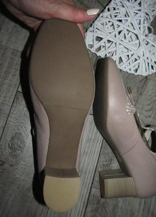 Кожаные туфли pia словения р.41 -27,5см5 фото