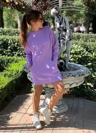 Платье флис1 фото