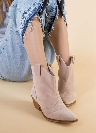 Женские ботинки казаки5 фото