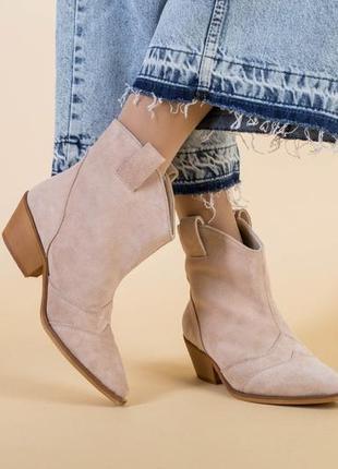Женские ботинки казаки9 фото