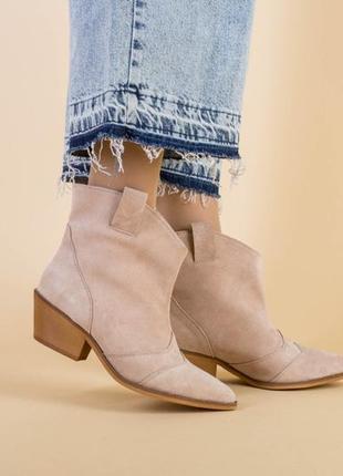 Женские ботинки казаки10 фото