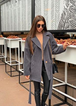 Укорочённое пальто2 фото