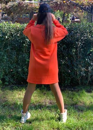 Платье флис3 фото