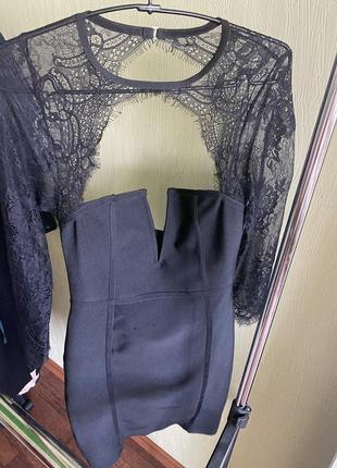 Бандажное платье1 фото