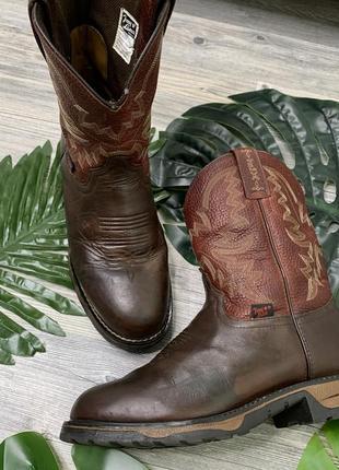 Ботинки, ковбойская обувь, винтажные казаки, сапоги ковбоя