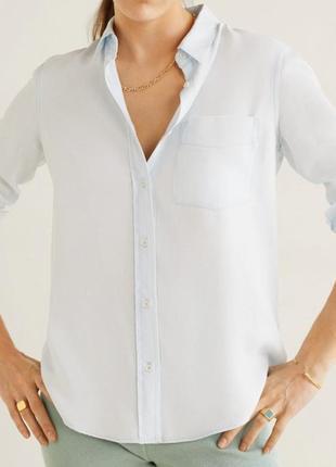 Блуза-рубашка mango1 фото