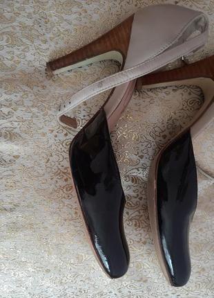 Туфли кожаные  36,6р3 фото