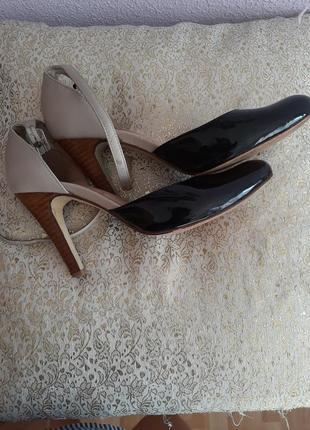 Туфли кожаные  36,6р6 фото