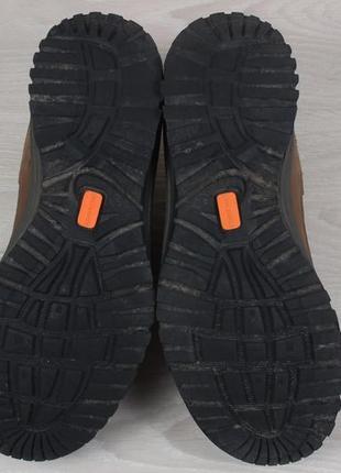Кожаные треккинговые кроссовки scarpa оригинал, размер 405 фото