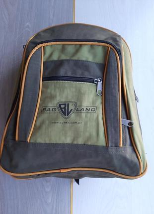 Детский рюкзак  bagland (зеленый