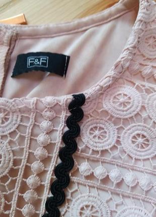 Шикарне мереживне плаття2 фото