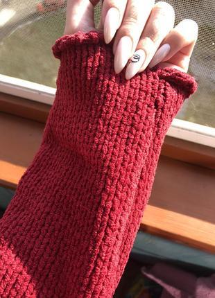 Новый женский свитер гольф крупной вязки4 фото