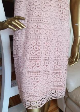 Шикарне мереживне плаття4 фото