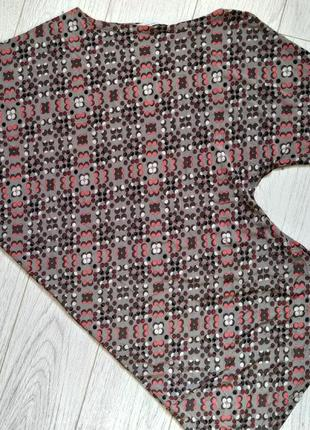 Асимметричный тонкий пуловер, блуза, northland vicolo, италия5 фото