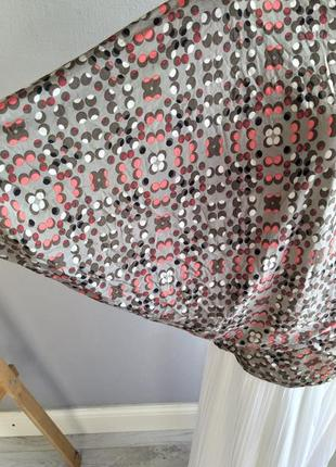 Асимметричный тонкий пуловер, блуза, northland vicolo, италия8 фото