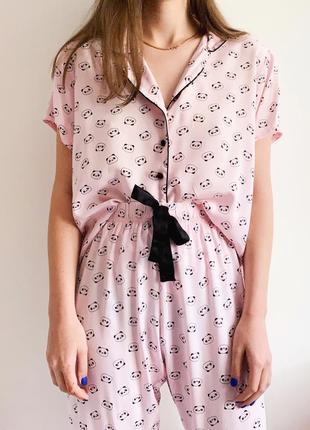 Пижама в пандочки primark1 фото