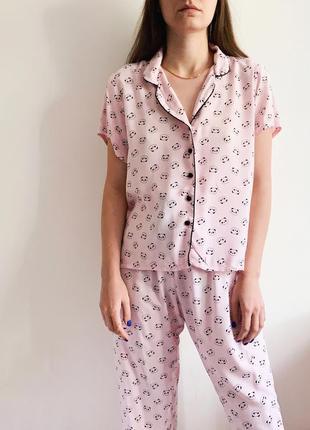 Пижама в пандочки primark2 фото