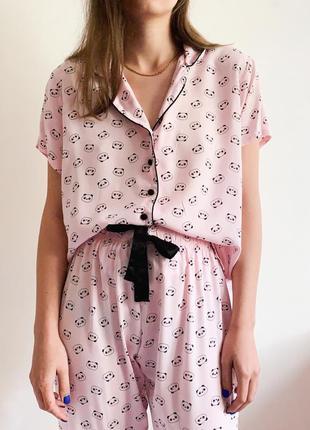 Пижама в пандочки primark4 фото