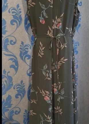 Бомбезное платье на запах2 фото