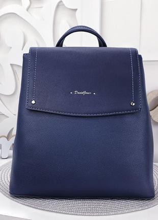 Синий рюкзак david jones 30×28×132 фото