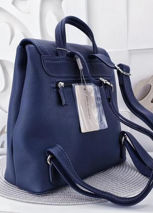 Синий рюкзак david jones 30×28×133 фото
