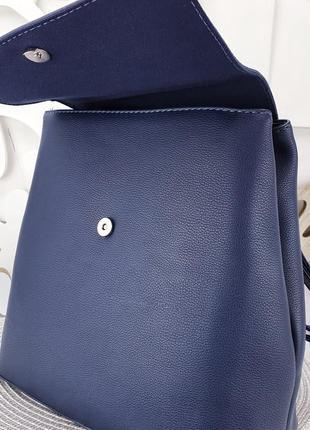 Синий рюкзак david jones 30×28×134 фото