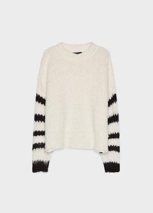 Шикарный свитер в полоску bershka5 фото