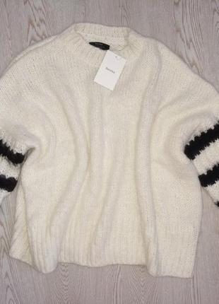 Шикарный свитер в полоску bershka6 фото