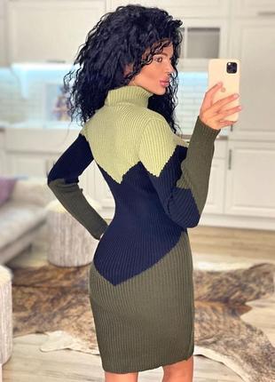 Гольф платье идеальный силуэт3 фото