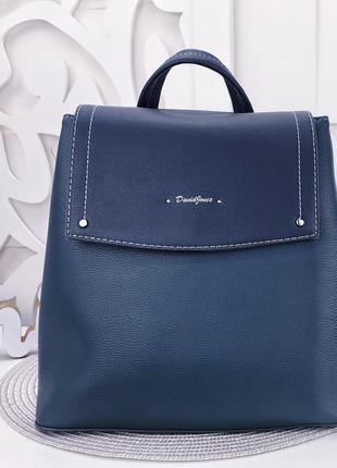 Темно-зеленый рюкзак david jones 30×28×13