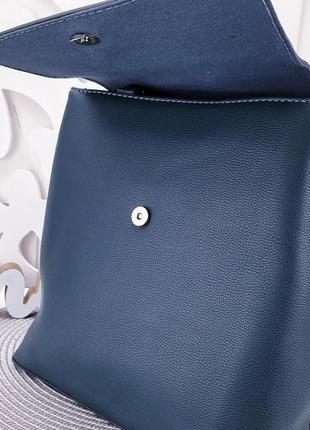 Темно-зеленый рюкзак david jones 30×28×134 фото