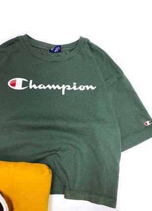 Укороченная футболка champion2 фото