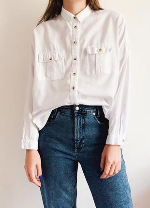 Рубашка oversize topshop1 фото