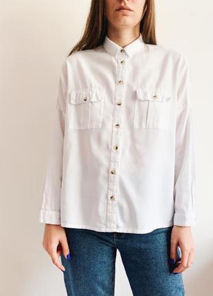 Рубашка oversize topshop6 фото