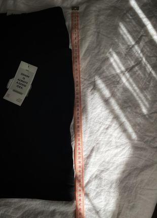 Юбка джинсовая черная новая7 фото