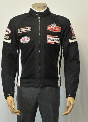 Мотокуртка з захистом helstons gt seven mesh motorcycle jacket - l