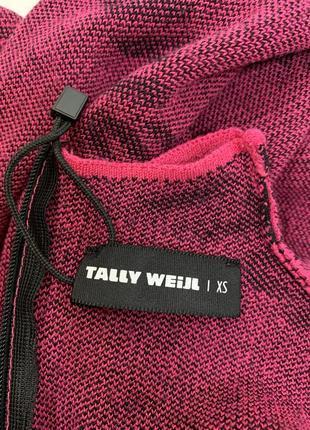 Оригинальная розовая кофточка рукав 3/4 от tally weijl7 фото