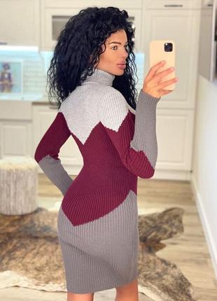 Платье которое стройнит и вытягивает силует3 фото