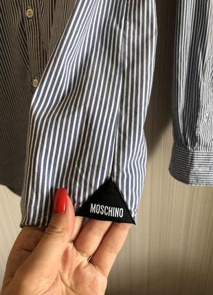 Рубашка moschino, xs2 фото