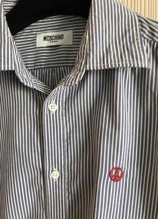 Рубашка moschino, xs3 фото