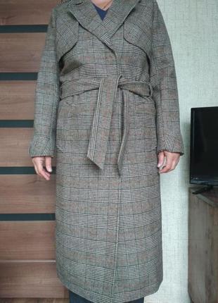 Пальто весна-осень из шерсти. размер 441 фото