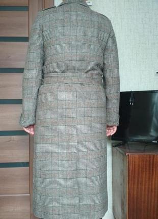 Пальто весна-осень из шерсти. размер 443 фото