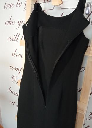 Классическое черное платье4 фото