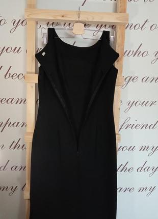 Классическое черное платье3 фото