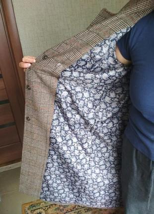 Пальто весна-осень из шерсти. размер 445 фото