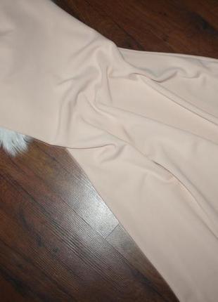 Персиковое макси платье8 фото