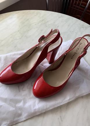 Кожаные туфли босоножки италия1 фото