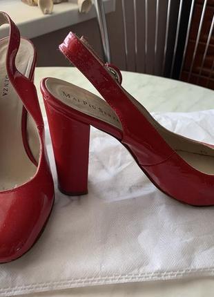 Кожаные туфли босоножки италия3 фото